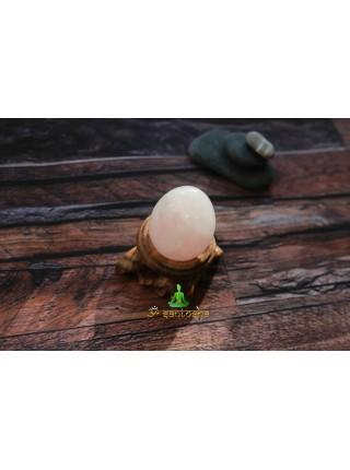 Камень розовый кварц яйцо (AK0192)
