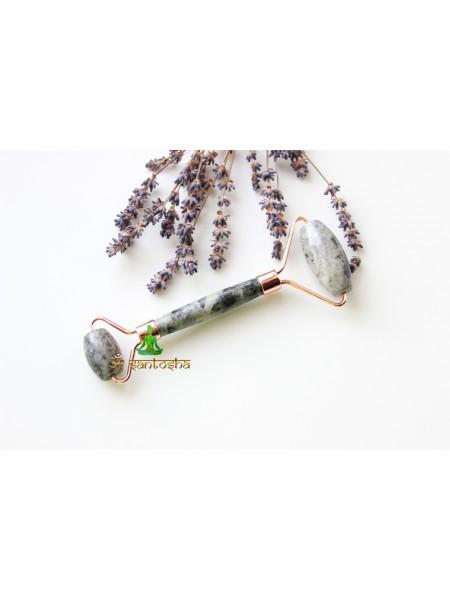 Роликовый массажер из натурального камня (AK0216)