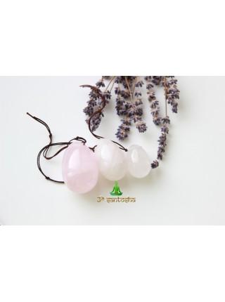 Массажное яйцо из розового кварца 4,5 см (AK0221)
