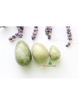 Массажное яйцо из нефрита 5 см (AK0224)