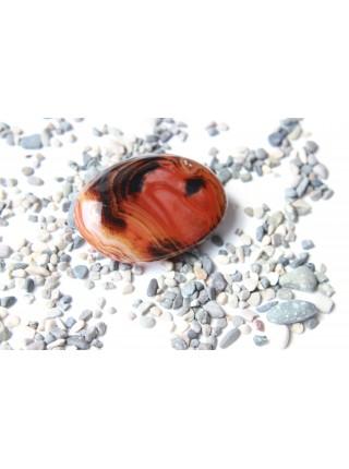 Камень мадагаскарский агат  65 мм (AK0251)
