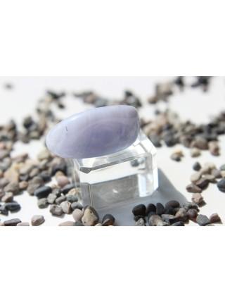 Камень голубой агат  30 мм (AK0252)