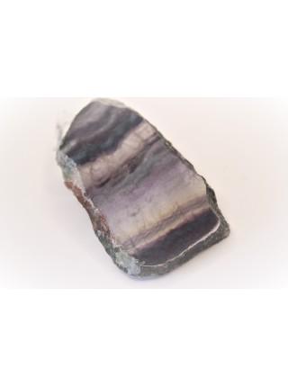 Камень срез из флюорита 7х4 см (AK0256)