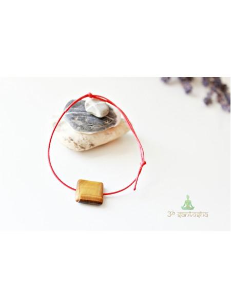 Браслет амулет, с натуральным камнем защитный (BR0168)