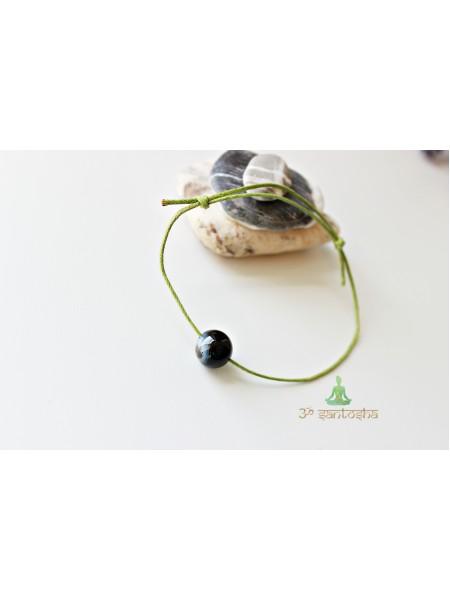 Браслет амулет, с натуральным камнем защитный (BR0170)