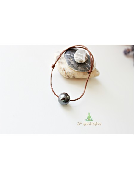 Браслет амулет, с натуральным камнем защитный (BR0171)