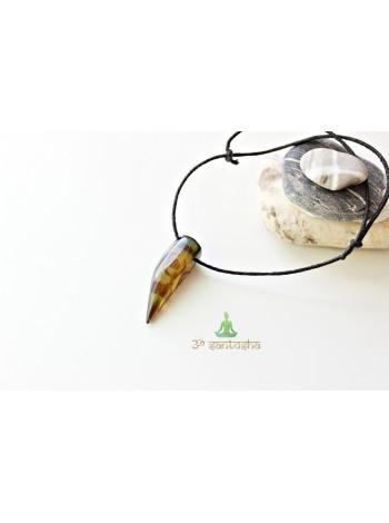 Браслет амулет, с натуральным камнем защитный (BR0177)