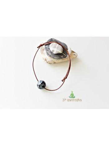 Браслет амулет, с натуральным камнем защитный (BR0179)