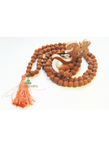 Четки (мала) из Рудракши (108 шт 12-13 мм)  (CH0153)