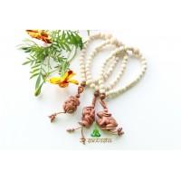 Четки талисман деревянные из бусин целебного дерева НИМ (CH0169)
