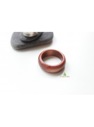 Кольцо из авантюрина (имитация) (DF0010)