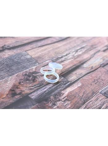 Кольцо из лунного камня (опалит) (DF0016)