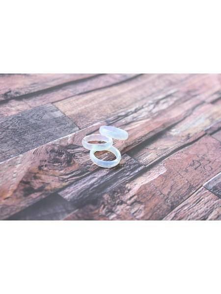 Кольцо из лунного камня (DF0016) прессованный