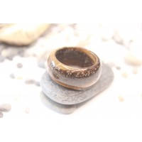Кольцо из камня тигровый глаз (DF0018) 11мм