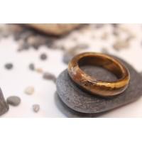 Кольцо из камня тигровый глаз (DF0020) 5-6 мм