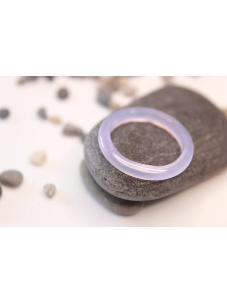 Кольцо из агата (DF0023) гладкое