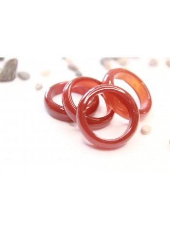 Кольцо из сердолика (DF0026) 5-6 мм