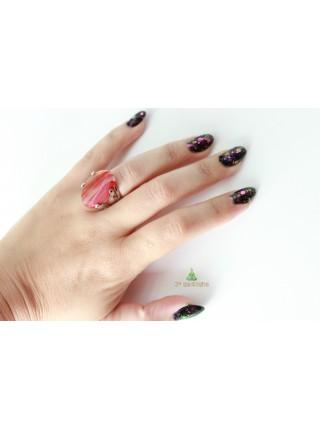 Кольцо с сердоликом (KB0028)