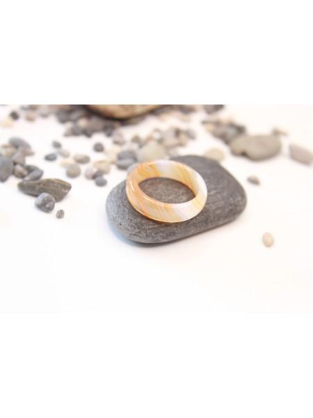 Кольцо из сердолика (KGS0025)