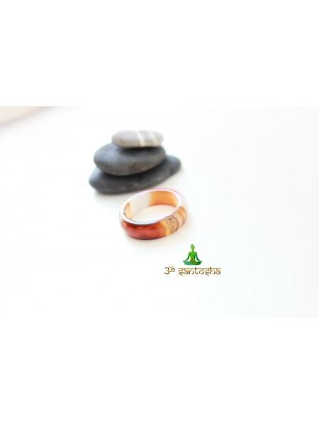 Кольцо из агата (KGS0092)