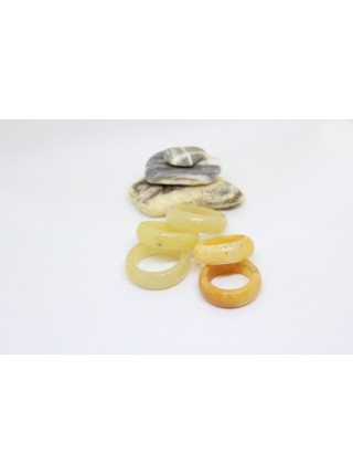 Кольцо из кальцита (KGS0107) 8мм