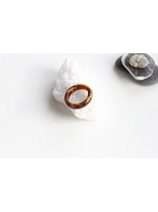 Кольцо из камня тигровый глаз (KGS0111)
