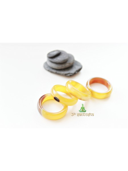 Кольцо из агата (KGS0119)