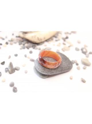 Кольцо из сардоникса (KL0016) 8мм