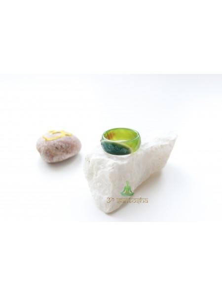 Кольцо из агата (KL0019)