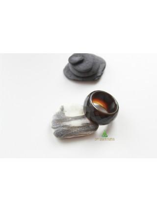 Кольцо из агата (KL0067) 14 мм
