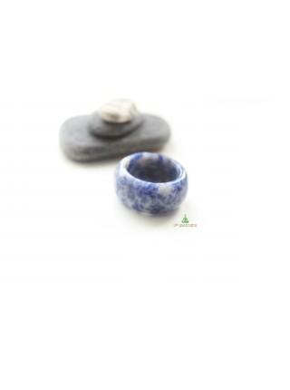 Кольцо из содалита (KL0076) 11мм
