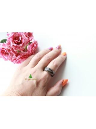Кольцо из агата (KL0078) 10мм