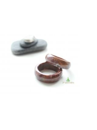Кольцо из яшмы (KL0086) 8 мм
