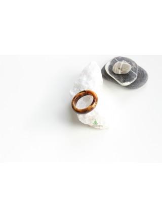 Кольцо из камня тигровый глаз (KL0089) 9мм