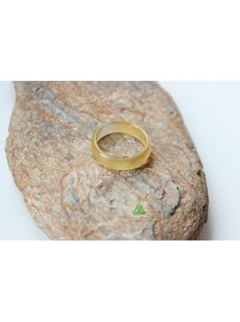 Кольцо из агата (KLU0037) 4,5 мм