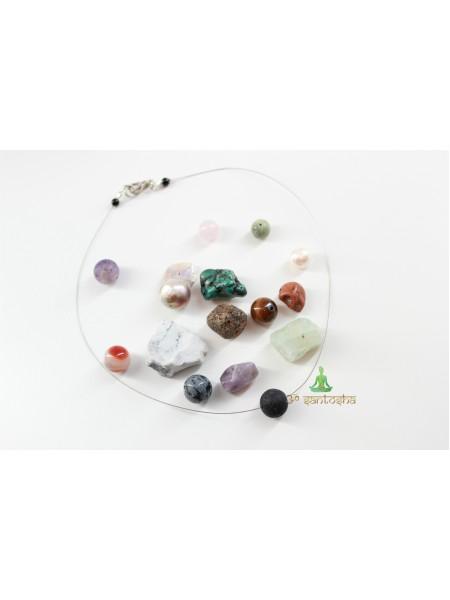 Кулоны амулеты с натуральными камнями для разных сфер жизни (SH0086)