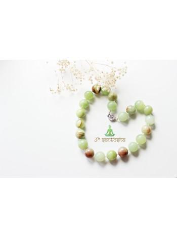 Бусы из зеленого оникса (SH0094)