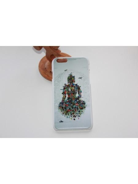 """Чехол для iPhone 6/6s """"Будда"""" матовый (АК0043)"""