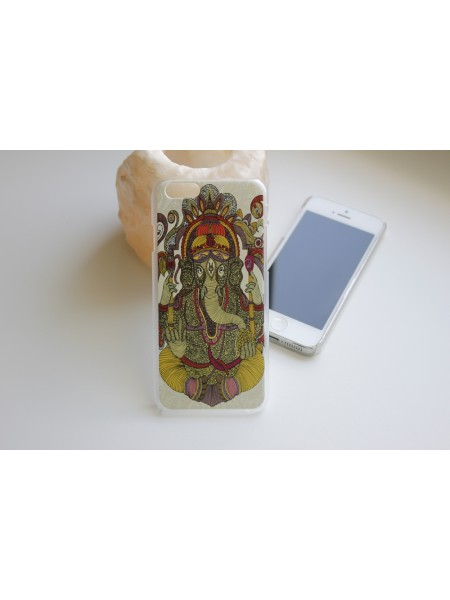 "Чехол для iPhone 6/6s ""Ганеш"" прозрачный (АК0045)"