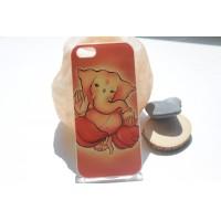 "Чехол для iPhone 5/5s ""Ганеш"" прозрачный (АК0050)"