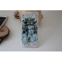 "Чехол для iPhone 6/6s ""Ганеш"" прозрачный (АК0054)"
