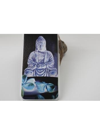 "Чехол для iPhone 6/6s ""Будда"" прозрачный (АК0058)"