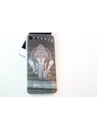 "Чехол мягкий ""Ганеш"" iPhone 7 (AK0119)"