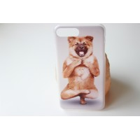 "Чехол ""Собакойога"" iPhone 7 Plus (AK0121)"
