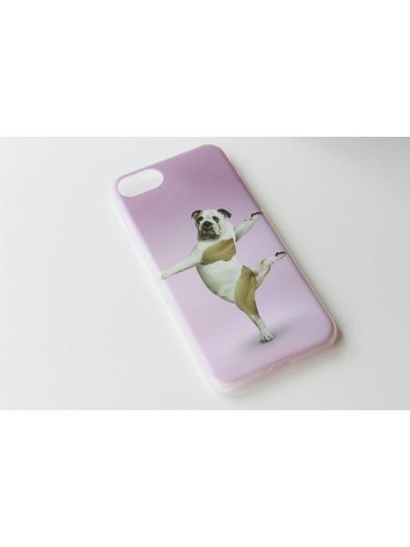 "Чехол ""Собакойога"" iPhone 7 (AK0122)"