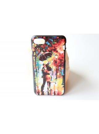 "Чехол ""Под дождем"" iPhone 5/5s  (AK0124)"
