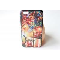 """Чехол """"Осенняя алея"""" iPhone 6 Plus (AK0126)"""