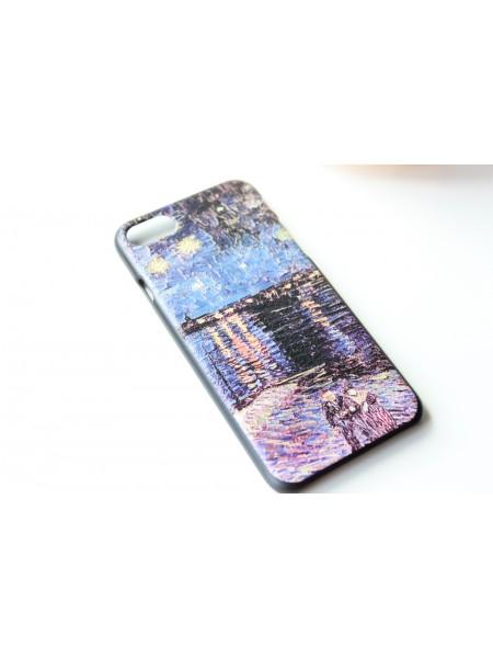 """Чехол """"Вечерние огни"""" iPhone 7  (AK0128)"""