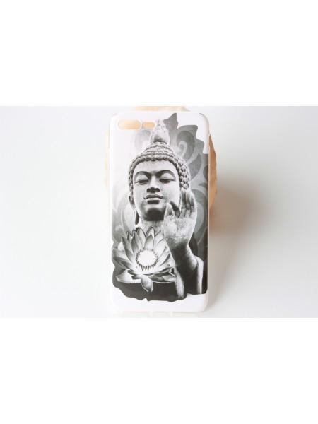 "Чехол мягкий ""Будда с лотосом""  iPhone 7 Plus  (AK0131)"