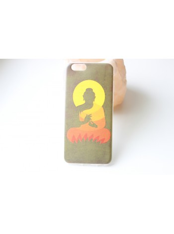 """Чехол мягкий """"Будда""""  iPhone 6/6s  (AK0138)"""